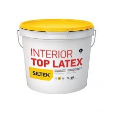Фарба Siltek Interior Top Latex латексна стійка до миття. База А (0,9 л)